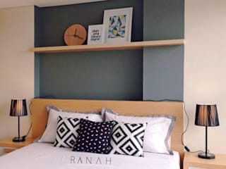 RANAH Scandinavian style bedroom Grey