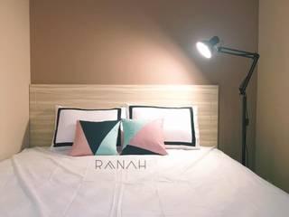 RANAH Camera da letto moderna Beige