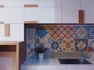 Studio Apartment - Margonda Residence 2:  Dapur by RANAH
