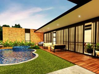 CASA AE: Casas  por Beiral Arquitetura e Urbanismo