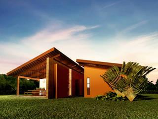 CASA FAZENDA: Casas  por Beiral Arquitetura e Urbanismo
