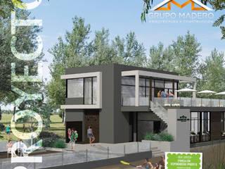Proyecto Club House Pinares del Sur: Casas de estilo moderno por Grupo Madero