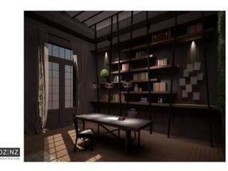 Estudio Estudios y oficinas eclécticos de DZ NZ Arquitectos Ecléctico