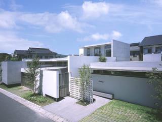 東谷山の住宅 II アトリエ環 建築設計事務所 モダンな 家