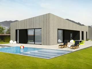 Dom jednorodzinny k. Karpacza: styl , w kategorii  zaprojektowany przez Wschód Architekci