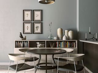 Dining room by MENTAL ARC DESIGN, Minimalist