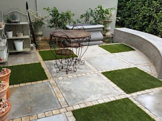 Moderner Balkon, Veranda & Terrasse von Gorgeous Gardens Modern