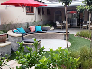 New outdoor room for Pieter and Annelize:  Garden by Gorgeous Gardens, Modern