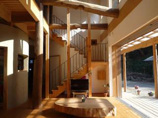 みらいのいえ オリジナルデザインの リビング の 遠野未来建築事務所 / Tono Mirai architects オリジナル