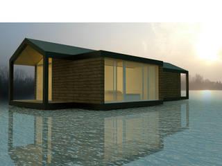 Casas de estilo escandinavo por Softarchitecture