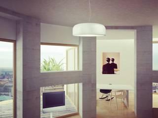 Casas de estilo industrial por Softarchitecture