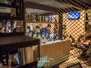 Officina del Grano Ingresso, Corridoio & Scale in stile industriale di Massimo Viti Architetto studio Architectural Make-Up+ Industrial