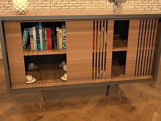 Merve Erenay Sever Mimarlık – Konsol Tasarım:  tarz