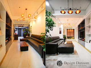 디자인다룸 광장동 사무실 클래식스타일 서재 / 사무실 by Design Daroom 디자인다룸 클래식