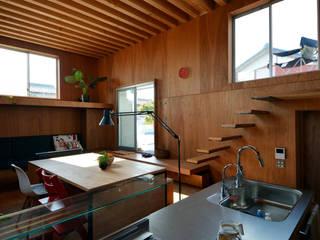 本庄の家: 神永設計が手掛けたキッチンです。