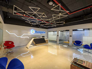 Hungama Entertainment:  Commercial Spaces by Worksphere Ventures (I) Pvt. Ltd.