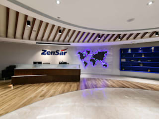 Zensar Technologies:  Commercial Spaces by Worksphere Ventures (I) Pvt. Ltd.