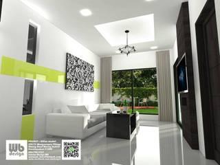 living room: ทันสมัย  โดย Interior Design WB, โมเดิร์น