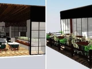 Merve Erenay Sever Mimarlık – Mandıra Kafe:  tarz Yeme & İçme