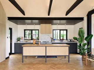 The Kent Kitchen by deVOL deVOL Kitchens Rustic style kitchen Wood Blue