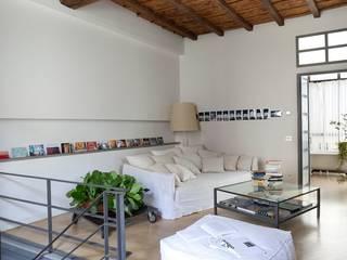 Casa Orsini Soggiorno in stile mediterraneo di Orsini Architects Mediterraneo