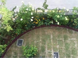 가드닝 프로젝트 - 2016. 은평 한옥마을 K씨 주택 아시아스타일 정원 by 가든디자인 뜰(garden design 뜰) 한옥