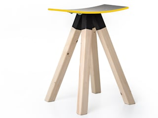 Çedille by Françoise Oostwegel Living roomStools & chairs Kayu Black