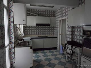 Cocina - Antes: Cocinas de estilo  de Beam Estudio