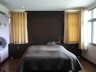 Aim Ztudio Eclectic style bedroom