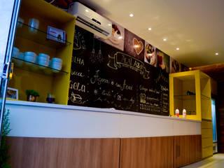 LOJA DE AÇAÍ Espaços gastronômicos modernos por Vanessa Lopes arquitetura, urbanismo e interiores Moderno