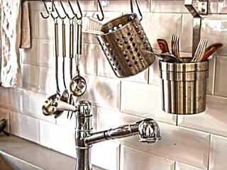 Appartamento Industrial - Roma Cucina in stile industriale di Studio Prodomo Industrial