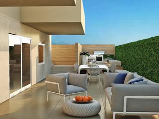 Jardines modernos: Ideas, imágenes y decoración de olivia Sciuto Moderno