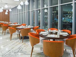 Buffete: Restaurantes de estilo  por Marbol industria Mueblera