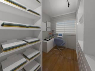AP CC: Closets  por Caroline Castillo Arquitetura,Moderno