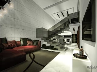 Modern living room by Roguez Arquitectos Modern