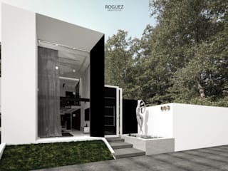 Modern houses by Roguez Arquitectos Modern