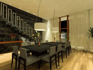 Casa de Campo Salas de jantar modernas por TOAR Arquitetura Moderno