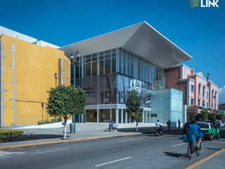 Teatro de la Ciudad Irapuato Centros de exposiciones de estilo minimalista de Grupo Link Minimalista