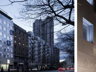 Edificio de Oficinas O´Donnell 12 Casas de estilo moderno de Fenwick Iribarren Architects Moderno