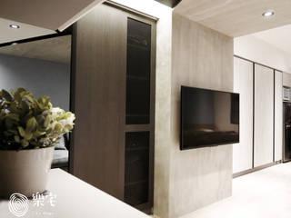 樂宅設計|永和新時代|精緻質感12坪小豪宅新古屋:   by 樂宅設計|系統傢俱