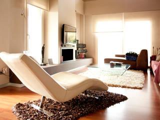 Casa en Calicanto (Chiva-Valencia): Salones de estilo  de navarro+vicedo arquitectura