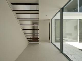 中野晋治建築研究室 ระเบียงและโถงทางเดิน
