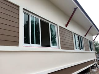 บ้านชั้นเดียวรีสอร์ทยกพื้น ทรงไทยประยุกต์(BP10) โดย WANIT i-design