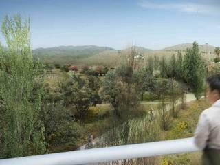 Puerta de Horta a Collserola:  de estilo  de Jordi Farrando arquitecte