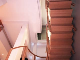 Bamboo Staircase:   by Inline Spaces Pty Ltd,