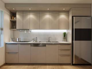 EZGİ AYDOGDU İçmimarlık Danışmanlık ve İnşaat Hiz. – Ataşehir_Konut: modern tarz Mutfak