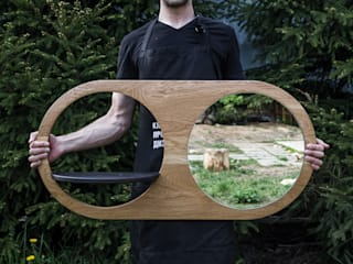 Дроссель | зеркало: Гардеробная в . Автор – Tomov Workshop