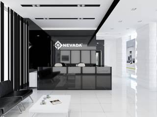 Edificios de oficinas de estilo  por EZGİ AYDOGDU İçmimarlık Danışmanlık ve İnşaat Hiz.