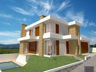 Residencial:   por Juliana Toniolo Arquitetura