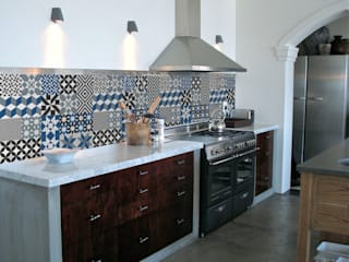Mosaic tile wall stickers:   by Turquoise